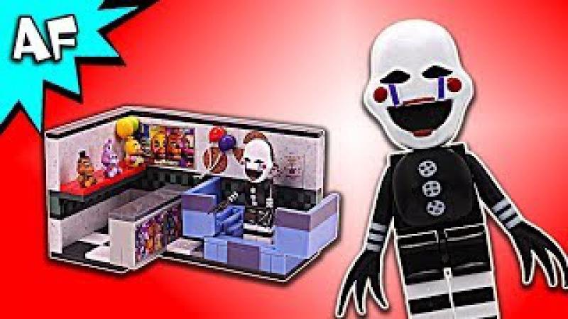 Five Nights at Freddy's PRIZE CORNER Speed Build - FNAF McFarlane Toys LEGO compatible set