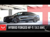 Vossen Hybrid Forged HF-1 Wheel Mercedes-Benz S63 AMG Coupe Tinted Gloss Black