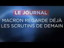 Macron regarde déjà les scrutins de demain - Journal du vendredi 10 novembre 2017