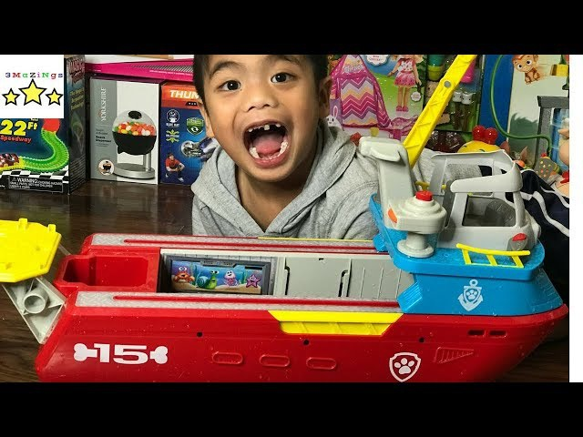Toy Review Paw Patrol Sea Patroller Fun Toy For Kids