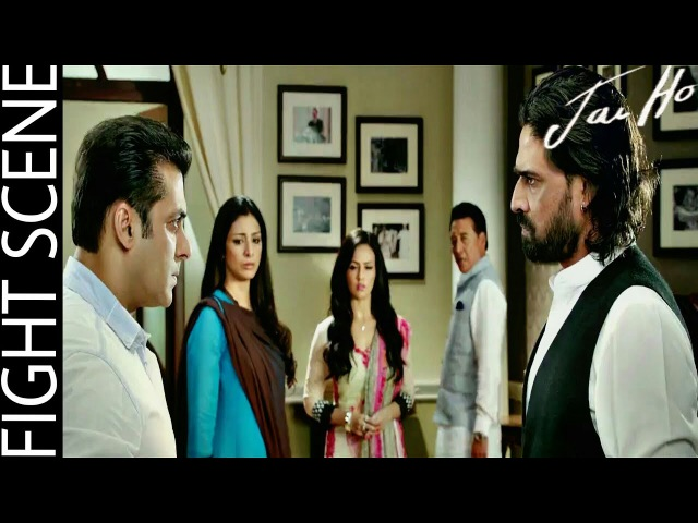 Jai Ho Movie Fight Scene Salman Trying To Kill Minister's Son In Low
