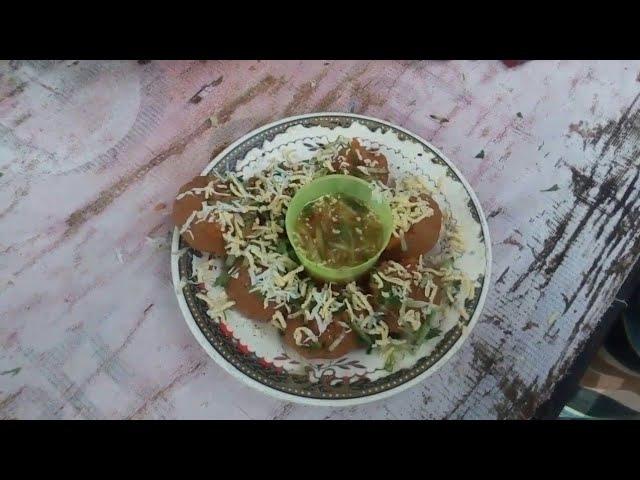 Bangladeshi favourite street food Fuchka,Pani-puri
