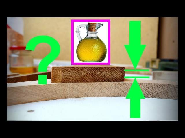 Глубина пропитки льняным маслом. Испытание