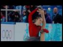 XXII Winter Olympics Team trophy Yulia Lipnitskaya FS NBC