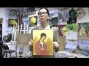 Отзыв. Как нарисовать икону. Икона на холсте Архангел Михаил