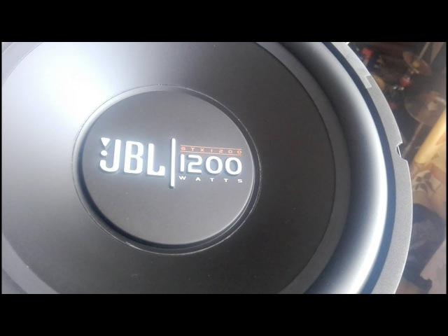 Сабвуферный динамик JBL GT-X1200