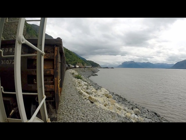 Anchorage AK to Whittier AK Trainhopping The Alaska Railroad