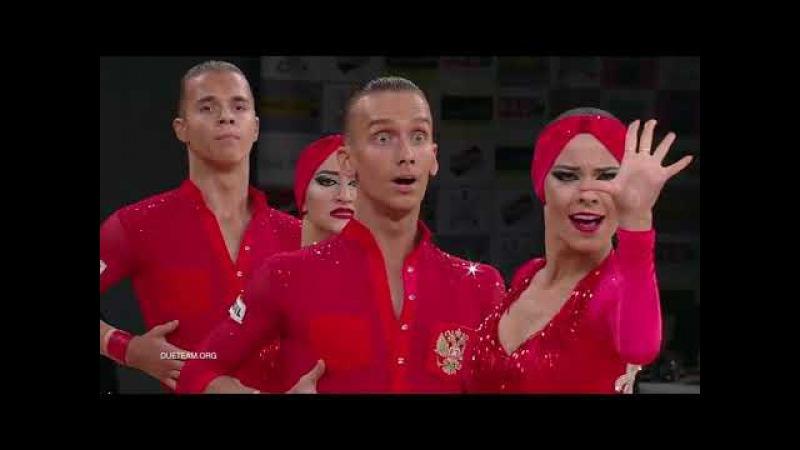 DUET Perm, RUS | 2017 World Formation Latin | O N E❣️H E A R T B E A T ❣️
