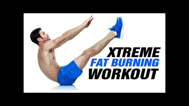 Xtreme 14min Fat Burning Home Workout - This Works! - Get 6 Pack Abs Fast