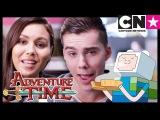 Adventure Time Minecraft Episode Sneak Peek with Olivia Olson and Jeremy Shada Cartoon Network