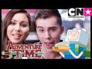 Adventure Time Minecraft Episode Sneak Peek with Olivia Olson and Jeremy Shada | Cartoon Network
