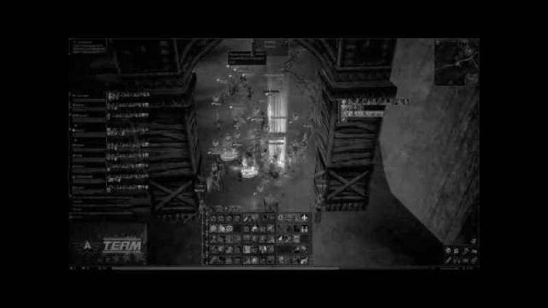 Новогодняя Осада Паагрио Комбэк Родного Сарая [31.12.17] Lineage 2 classic [A-TeaM]