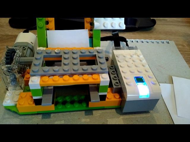 Εκτυπωτής/ Sensor printer/ LeGo WeDo 2.0