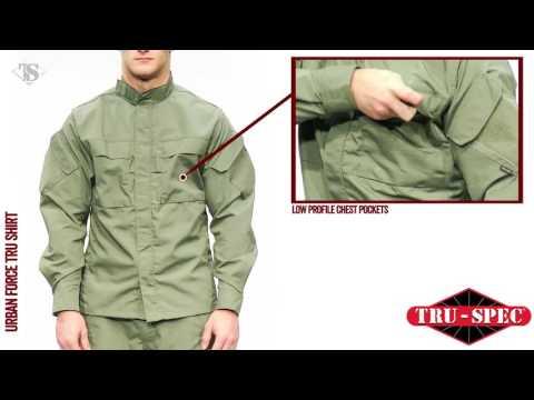 (中文字幕) TRU SPEC® 城市武裝系列 (Urban Force) - 戰術反應作戰上衣