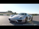 Porsche 918 Spyder and Panamera Turbo S -both E-hybrid