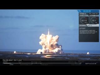 Головні моменти старт і посадка SpaceX Falcon Heavy 2018 #SpaceX #FalconHeavy #Space_X #Falcon_Heavy #SV_World