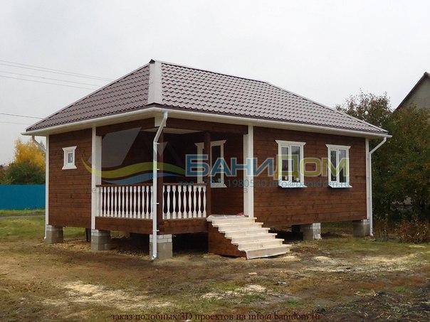 Строим дома из бруса, каркасные дома, перевозные бани.