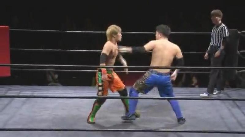 Akiyori Takizawa, Shunsuke Sayama vs. Daiki Shimomura, Tetsuya Ido (J-Stage - 9th)