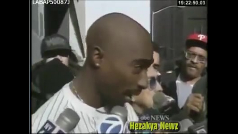 2Pac - Outside Courthouse, N.Y. - November 29, 1994 Interview