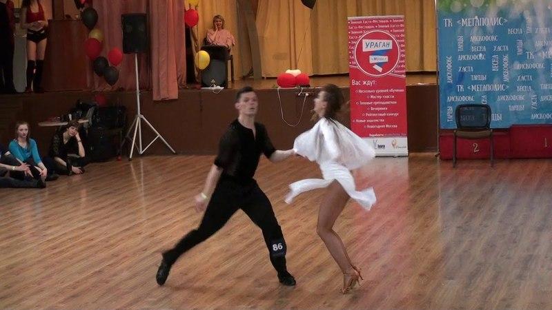 ВО2018 Absolute Slow 1 Место №86 Илья Тимофеев - Екатерина Черданцева