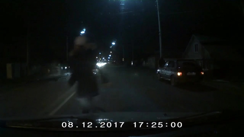 ДТП на ул. Сумская в районе дома №302 - 8 декабря 2017г.