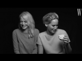 Jennifer Lawrence and Emma Stone Have a Lot in Common _ Screen Tests _ W Magazine