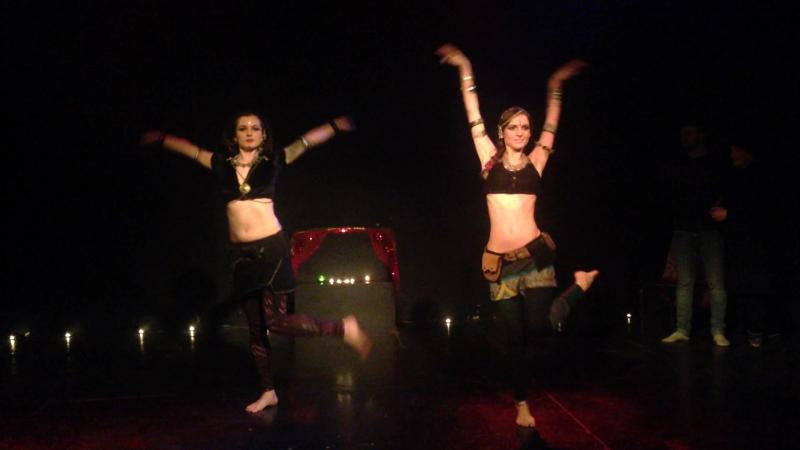 IITS duet Maya Volna Juliana Leto. Maavi New Year party 2017