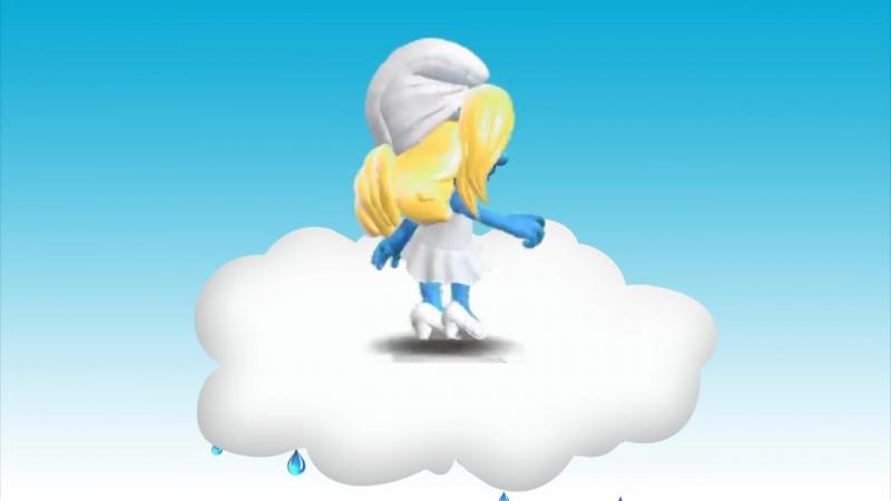 Смурф-клип _ The Smurfs. Танец смурфиков. Мульт-песенка клип видео для детей. На