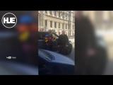 В Питере неадекват размахивал ксивой прокуратуры и обещал сгноить пешеходов