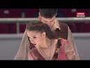 Чемпионат России 2018 Танцы на льду ПТ Аннабель МОРОЗОВ Андрей БАГИН