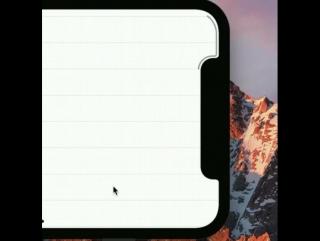 iPhone X UI