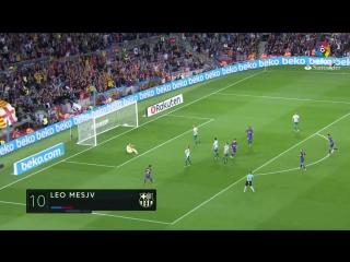 Испания ЛаЛига Барселона - Эйбар 6:1 обзор  HD