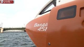 Аналогов нет: Нижний представил судно на подводных крыльях