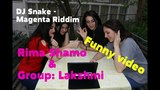Rima Shamo & Group Lakshmi | DJ Snake | Magenta Riddim | Funny video
