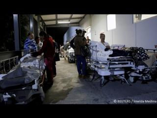 Последствия мощного землетрясения у берегов Мексики