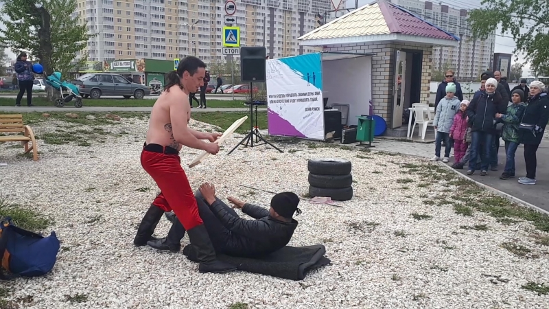 Силовое шоу 💪 Игорь Иванцов