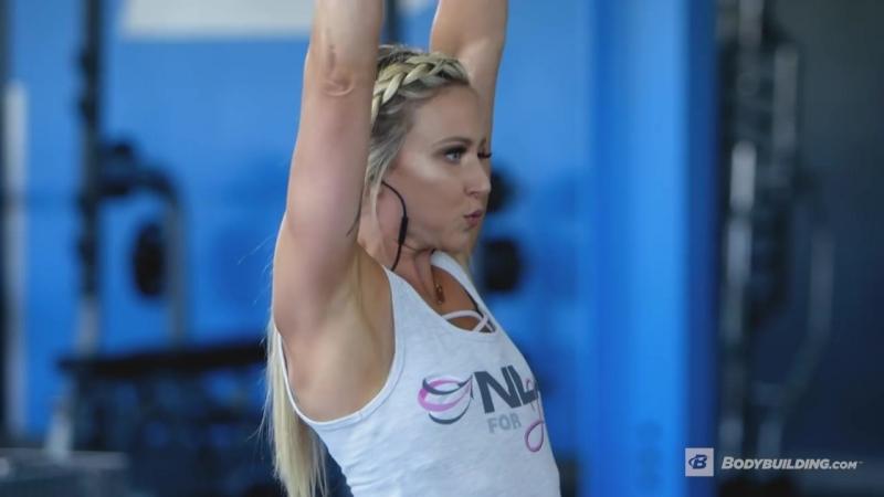 Тренировка плеч с Эми Апдайк /Shoulder-Transformer Workout - Amy Updike IFBB Bikini Pro