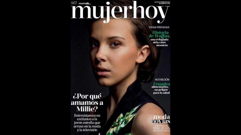 Millie Bobby Brown, osada juventud en la portada de Mujerhoy Mujerhoycom