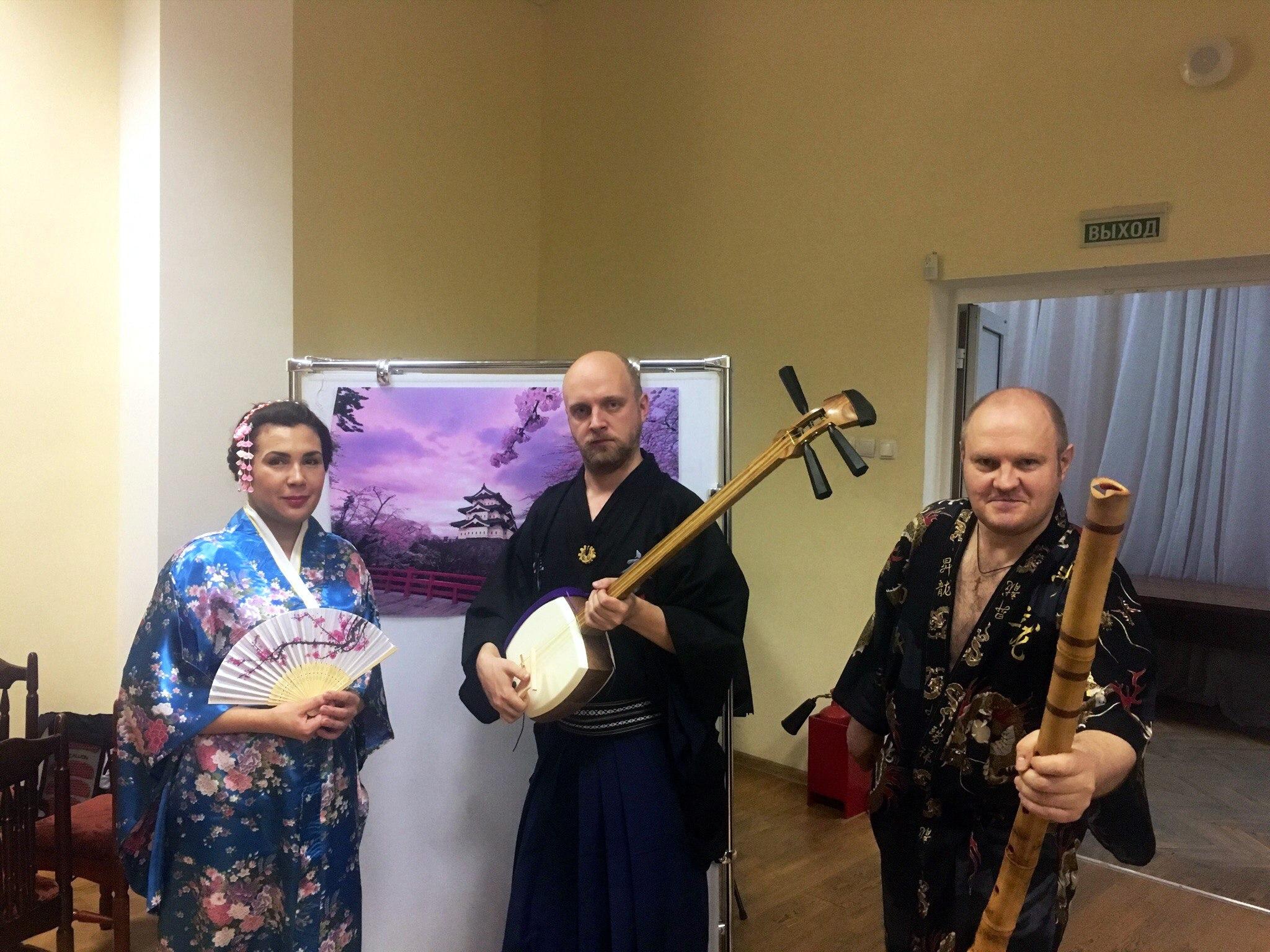 Вечер японской культуры «Никорай-До» в Библиотеке им. М. Горького