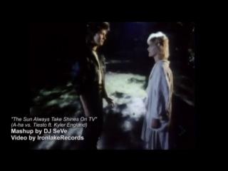 A-ha vs. Tiesto ft. Kyler England - The Sun Always Take Shines On TV