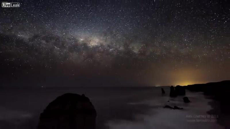 Time-lapse HD Video Звездное небо-[save4.net]