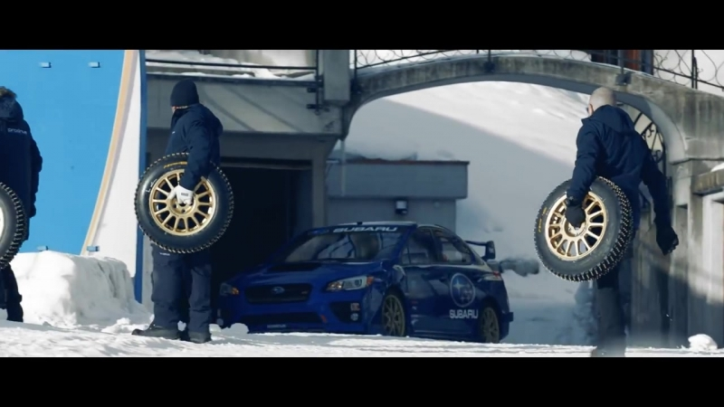 Boxersled! Subaru WRX STI vs an Olympic Bobsled Run   Субару WRX STI против Олимпийского бобслея
