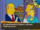 Steamed Hams but Skinner invites Chalmers over for novel games