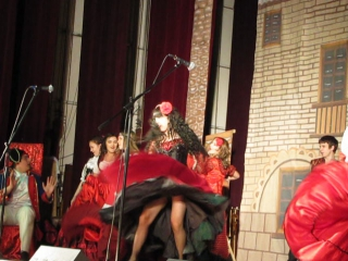Bamboleo (Мюзикл Зорро) цыганка Инесс самая любимая роль