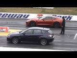 Drag racing. Американские авто против европейских и японских