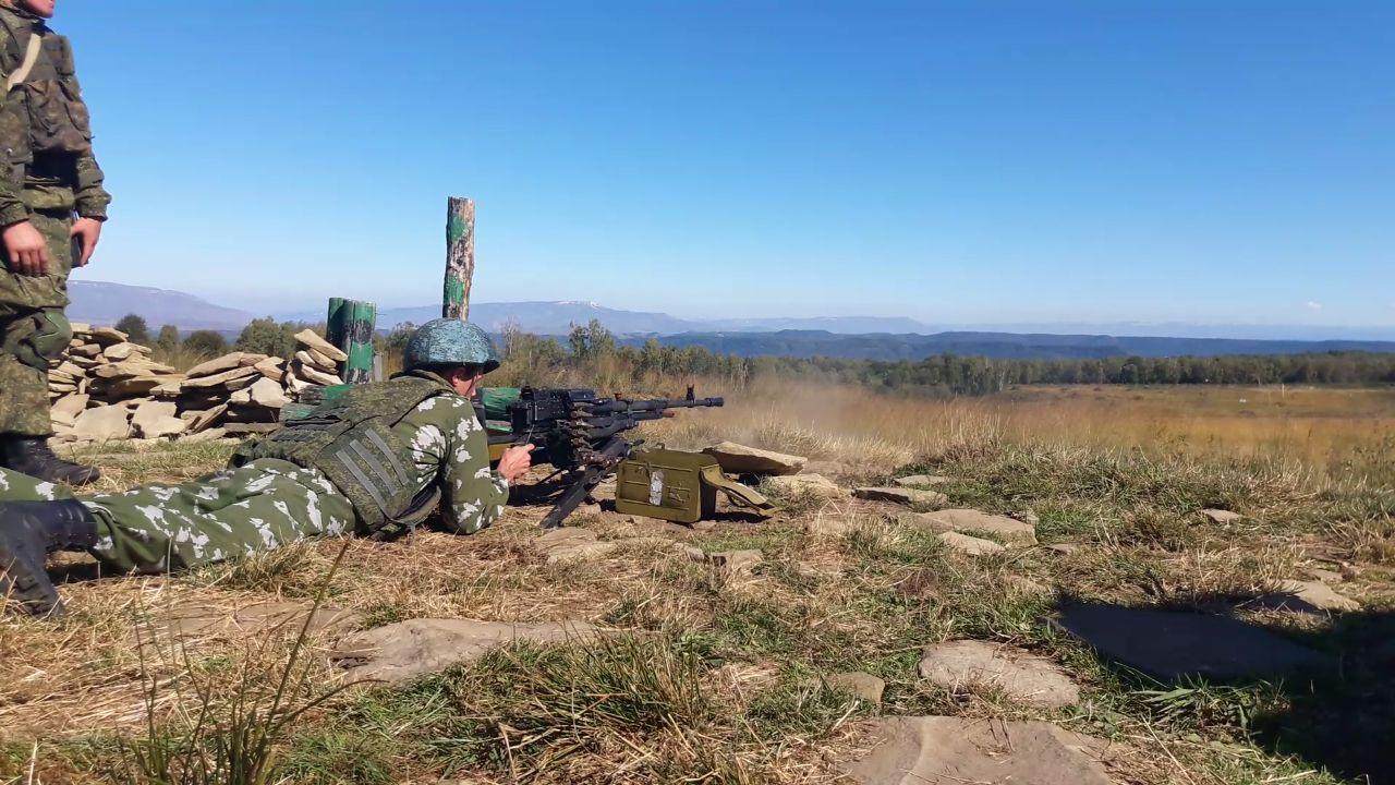 Военно-полевые сборы казаков состоялись в Зеленчукском районе