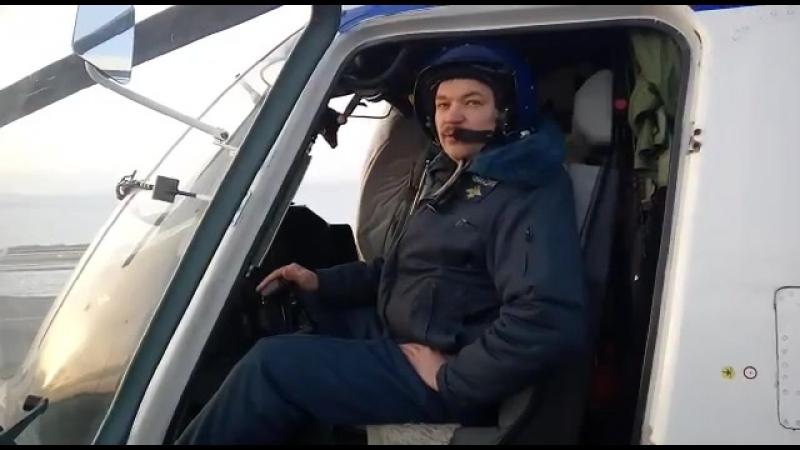 С новым 2018 годом поздравляют сотрудники авиалицонного отряда специального назначения Росгвардии по Республике Башкортостан