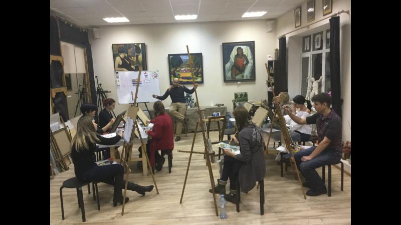 Мастер-класс Цветоведение Теория и практика цветовой композиции для художников.