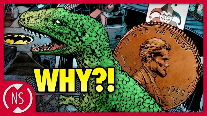 Why Does BATMAN Have a Giant Penny and Dinosaur in the Batcave?    Comic Misconceptions    NerdSync