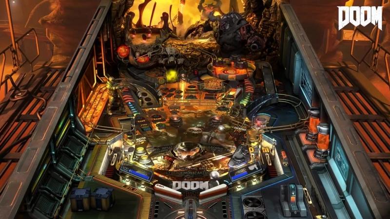 Столы Bethesda Fallout, DOOM и The Elder Scrolls V Skyrim Pinball FX3 для Nintendo Switch!
